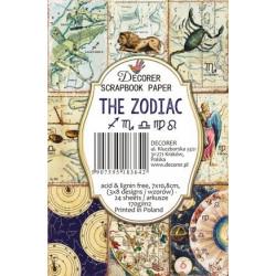 Sada scrap.kartiček 7x10,8cm - The Zodiac I (Decorer)