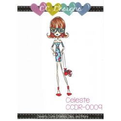 Gumové razítko - Celeste (C.C.Designs)
