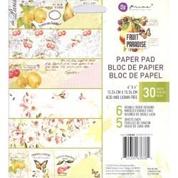 Sada papírů Fruit Paradise 15x15 (Prima Marketing)