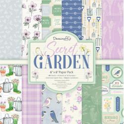Sada papírů 15x15 Secret Garden (Dovecraft)
