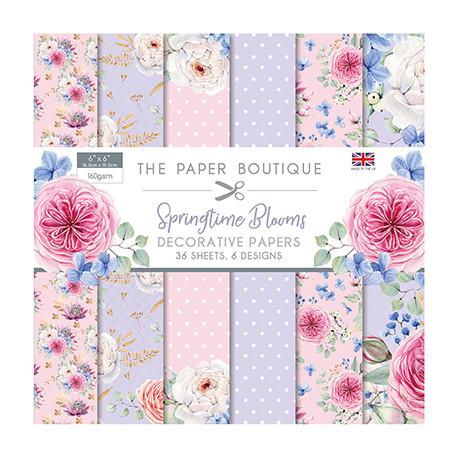 Sada papírů 15x15 Springtime Blooms (CW)
