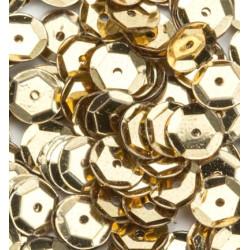 Sada flitrů prolamovaných 6mm - zlaté
