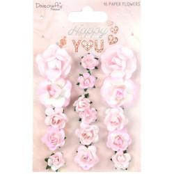 Set papírových růžiček Happy You (Dovecrafts)