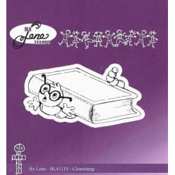 Transp.razítko - Pod knihou (By Lene)