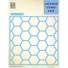 Vyřezávací šablona Layered Combi Dies - medová plástev A