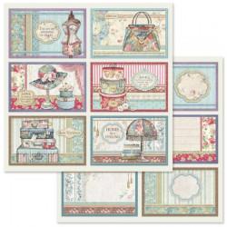 Grand Hotel, šest kartiček 30,5x30,5 scrapbook