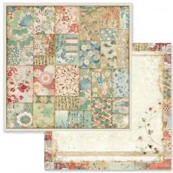 Oriental Garden, kimono 30,5x30,5 scrapbook