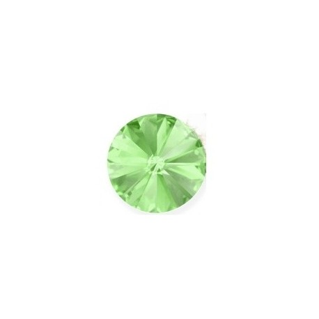 SWAROVSKI RIVOLI 12mm CHRYSOLITE