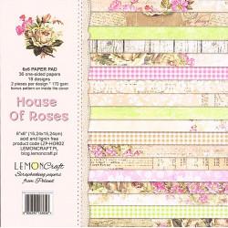 Sada papírů House Of Roses 15x15