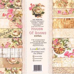 Sada papírů House Of Roses Extra 15x15
