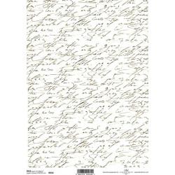 Papír rýžový A4 Písmo II.