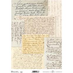 Papír rýžový A4 Písmo