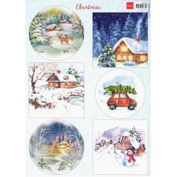 Papír A4 Christmas (MD)
