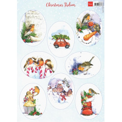 Papír A4 Christmas Robins (MD)