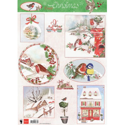 Papír A4 Cozy Christmas (MD)