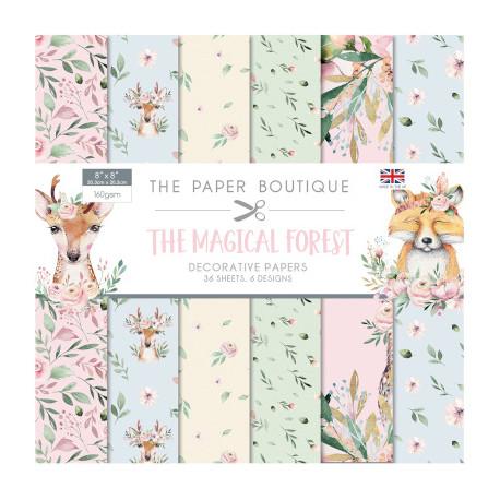 Sada papírů 20x20 The Magical Forest (CW)