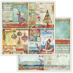 Make a Wish, čtyři obrázky 30,5x30,5 scrapbook
