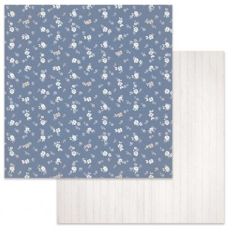 Winter Star, kvítky 30,5x30,5 scrapbook