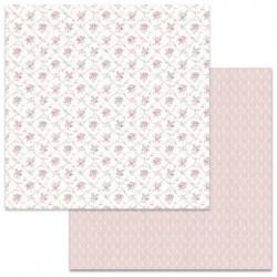 Wedding, Růžové pozadí 30,5x30,5 scrapbook