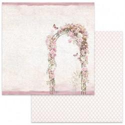 Wedding, Růžová brána 30,5x30,5 scrapbook