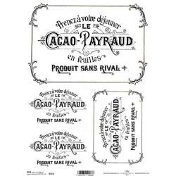 Papír rýžový A4 Cacao Payraud