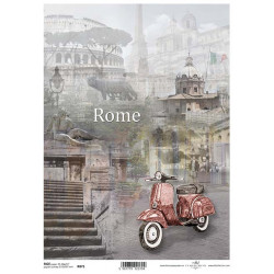 Papír rýžový A4 Rome, motorka