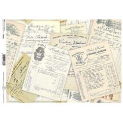 Papír rýžový A4 Historické dokumenty, zažloutlé
