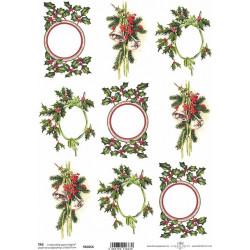 Scrap.papír A4 Vánoční dekorace