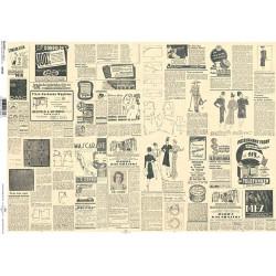 Papír A4 Inzerce retro ITD