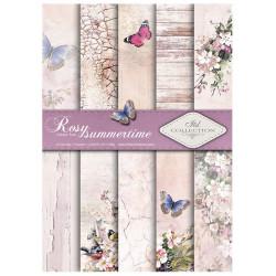 Sada papírů A4 - Rosy summertime (ITD)