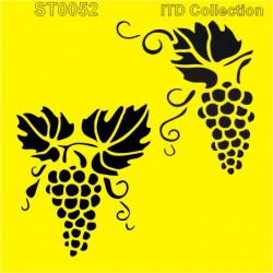 Šablona ITD - Hroznové víno 16x16