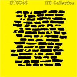 Šablona ITD - Stará zeď 16x16