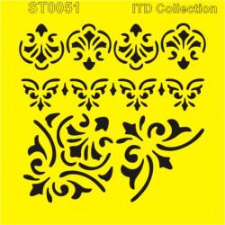 Šablona ITD - Bordury a rohy 16x16