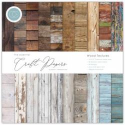 Sada papírů 15x15 Wood Textures (CC)