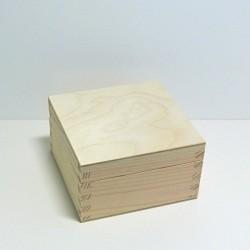 Krabička čtvercová 10,5x10,5cm - 2. jakost