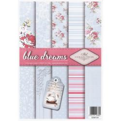 Sada papírů A4 - Blue Dreams (ITD)