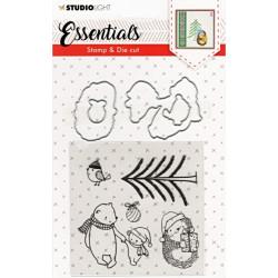 Vyřezávací šablony a razítka - Essentials Christmas nr.25 (SL)