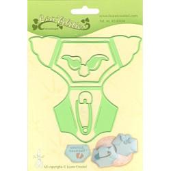 Vyřezávací šablony - Dětské plenkové kalhotky (LC)