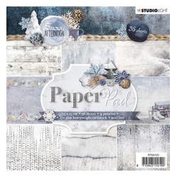 Sada papírů 15x15 Snowy Afternoon nr.125 (SL)