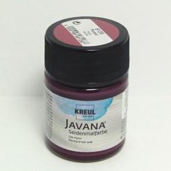 Barva na hedvábí JAVANA 50ml - purpurová