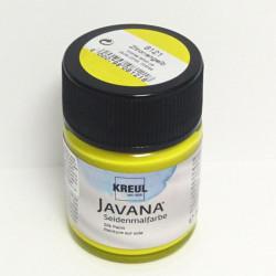 Barva na hedvábí JAVANA 50ml - citronová