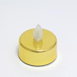 LED svíčka - jantarové světlo