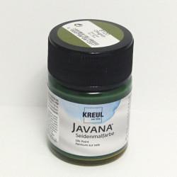 Barva na hedvábí JAVANA 50ml - olivová zelená