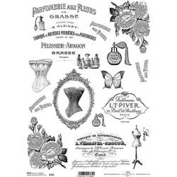 Papír rýžový A4 Parfumerie Aux Fleurs