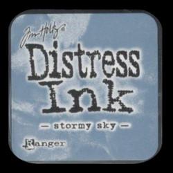 Distress Ink MINI polštářek - Stormy Sky