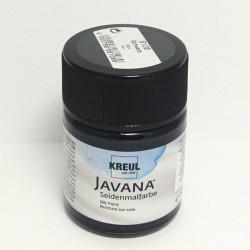 Barva na hedvábí JAVANA 50ml - černá