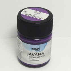 Barva na hedvábí JAVANA 50ml - lila