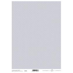 Scrap.papír A4 Celoplošný, drobné puntíky na šedomodré