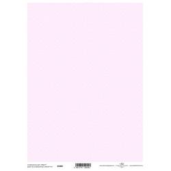 Scrap.papír A4 Celoplošný, drobné puntíky na růžové