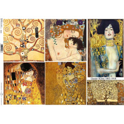 Papír A4 Gustav Klimt ITD